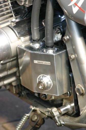オオノスピード OHNO SPEED スプロケットカバー付きアルミオイルキャッチタンク ビレット GSX750S カタナ GSX1100S カタナ (刀)