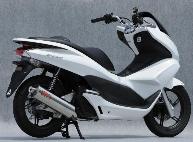 ヤマモトレーシング YAMAMOTO RACING フルエキゾーストマフラー SPEC-A オーバル マフラー PCX125