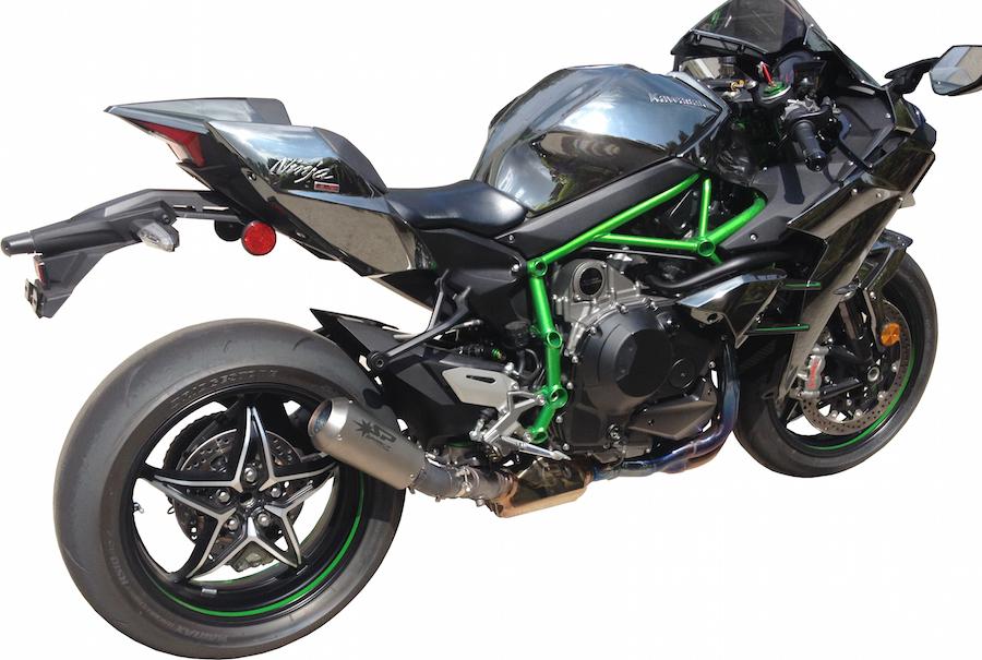 SPARK EXHAUST スパーク マフラー MotoGP スリップオンマフラー (MotoGp Slip-On) H2