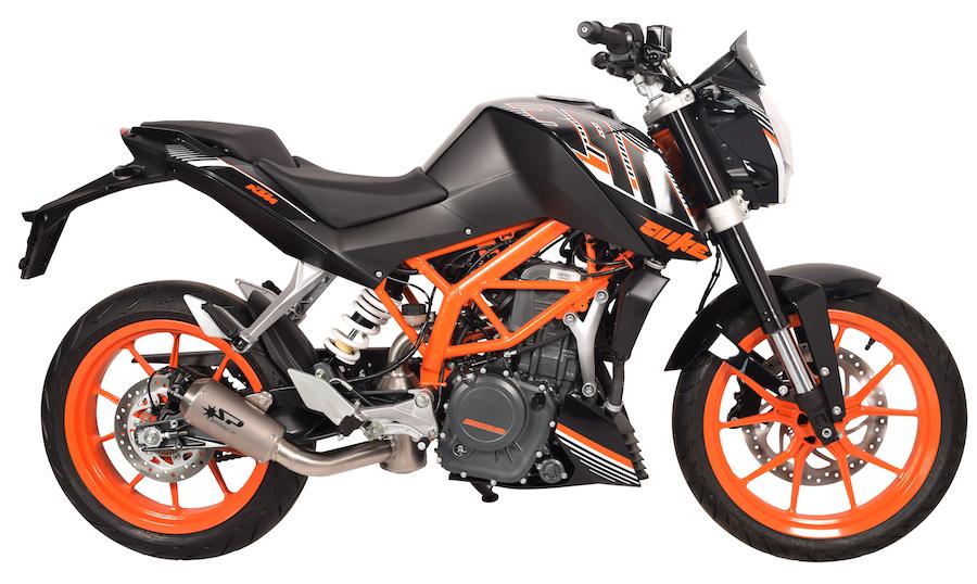 SPARK EXHAUST スパーク マフラー MotoGP スリップオンマフラー (MotoGp Slip-On) DUKE 390 (13-16)