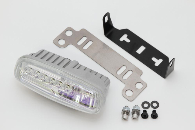 Rin Parts リンパーツ ヘッドライト本体・ライトリム/ケース デイライトヘッドライトキット レンズカラー:レインボー ズーマー