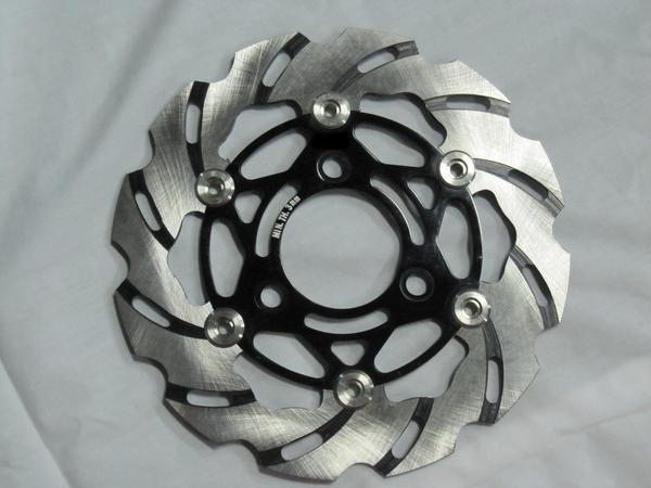 【ポイント5倍開催中!!】Rin Parts リンパーツ ディスクローター BD-3ブレーキディスク カラー:ブラック DIO [ディオ] ズーマー