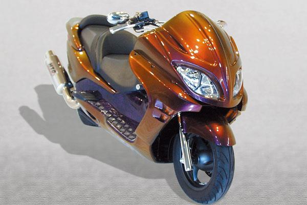 WARRIORZ ウォーリアーズ スクーター外装 フォルツァ MF08用 エアロフェイス・サイドカウル・リアウイング V1(バージョンワン) 3点セット FORZA[フォルツァ](MF08)