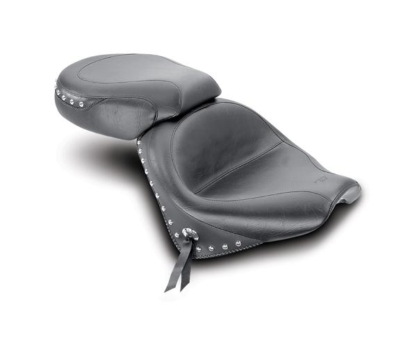 MUSTANG マスタング シート本体 ツーリングツーピースワイドワイドシート (Wide Touring Two-Piece Seat)【SEAT,HONVTX13RWIDE STUD [0810-0287]】 タイプ:Studded