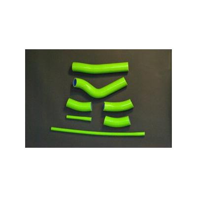 【ポイント5倍開催中!!】【クーポンが使える!】 JPモトマート(デュラボルト) JP MotoMart(DURA-BOLT) フィッティング・ホース関連 シリコンラジエターホースキット カラー:グリーン ZRX1200R(02-07)