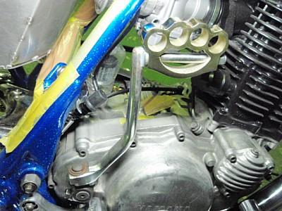 部品屋K&W その他エンジンパーツ ナックルキックペダル SR400 SR500