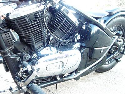 部品屋K&W ブレーキペダル・シフトペダル ジョッキーシフトキット バルカン400 バルカン800