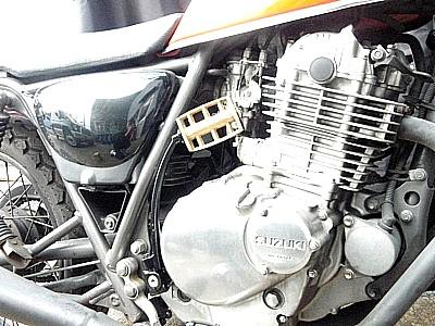 部品屋K&W その他エンジンパーツ キックペダル キックアーム カラー:ブラス(真鍮) グラストラッカー ビッグボーイ