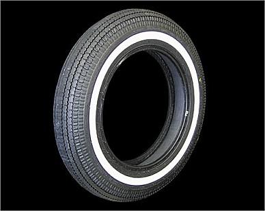 【クーポン配布中】部品屋K&W COKER クラシックホワイトストライプタイヤ 【5.00-16】 コッカー タイヤ ボイジャー1200 Z1000LTD/Z1クラシック