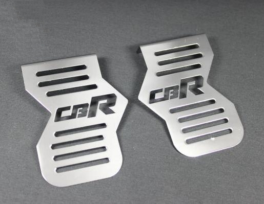 【クーポン配布中】ACP エーシーピー ロゴ入りメッキキャブレターサイドカバー CBR400F