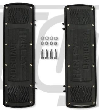 ガッツクローム GUTSCHROME フットペグ・ステップ・フロアボード アーリースタイルフットボード FLSTモデル 86-11 FLTモデル 80-11
