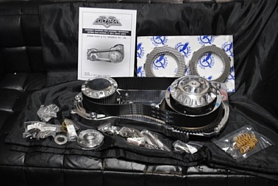 部品屋K&W ミッション ベルトドライブ サイズ:3.35インチ DYNAファミリー