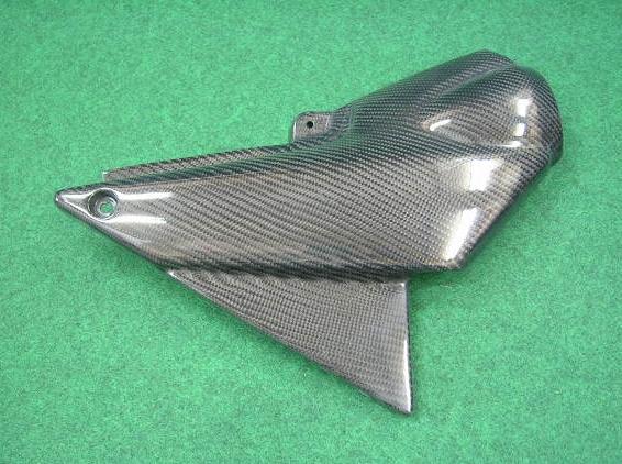 STING R&D スティングアールアンドディー カーボン製サイドカバー 素材:カーボン(綾織り) XJR1300 2002年式までの同一形状に限る