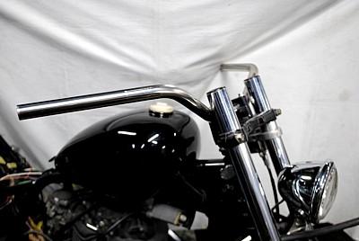 テレビで話題 部品屋KW セットアップ ハンドルバー スーパーバー 250TR
