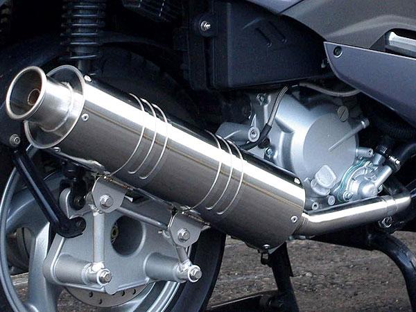 RSヨコタ レーシングショップヨコタ フルエキゾーストマフラー RSYビッグホーンステンレス:シルバーウイング400(NF01・排気バルブ無)用マフラー SILVERWING400 [シルバーウィング]