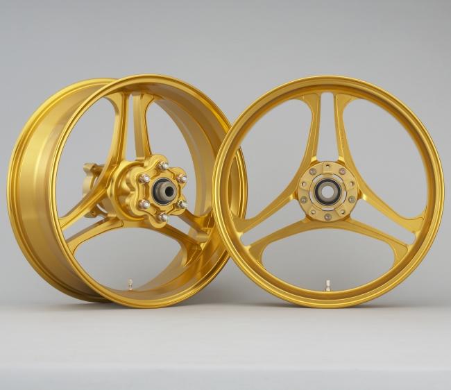 BULL DOCK ブルドック ホイール本体 LAVORANTE [ラヴォランテ] アルミホイール ゴールドアルマイト ゼファー1100
