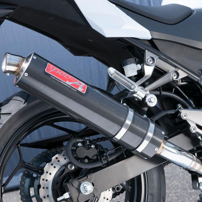 ヤマモトレーシング YAMAMOTO RACING SPEC-A カーボン スリップオンマフラー Z250 (2013-)