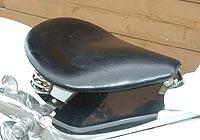 American Dreams アメリカンドリームス シート本体 サドルシートキット Sサイズ 薄型 黒レザー スティード400
