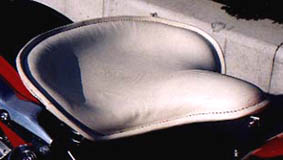 American Dreams アメリカンドリームス シート本体 軍用車シート(本皮黒) シャドウ400 シャドウ750