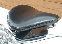 American Dreams アメリカンドリームス シート本体 サドルシートキット Mサイズ 厚型 黒レザー ドラッグスター400