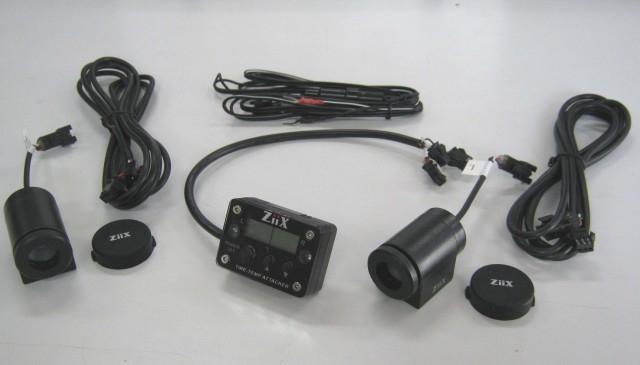クレバーライト:CLEVER LIGHT その他メーター関連 ZiiX タイヤテンプアタッカー(2セット)