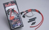 NOLOGY ノロジー プラグコード ホットワイヤー(1台分セット商品) カラー:レッド CB400T [ホークII] 全年式