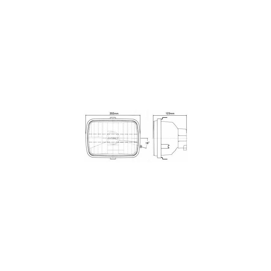 RAYBRIG レイブリック マルチリフレクターヘッドランプ ZRX1100 ZRX400 GPZ900R GPZ750R NINJA [ニンジャ] ZRX1200R