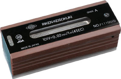 トラスコ中山 工業用品 TRUSCO 平形精密水準器 A級 寸法250 感度0.05