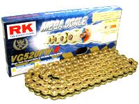 RK アールケー TAKASAGO CHAIN VGメガスケールシリーズチェーン VG520FW-R リンク数:102 RZ350 R1WX/W/31K/1JF/1JG