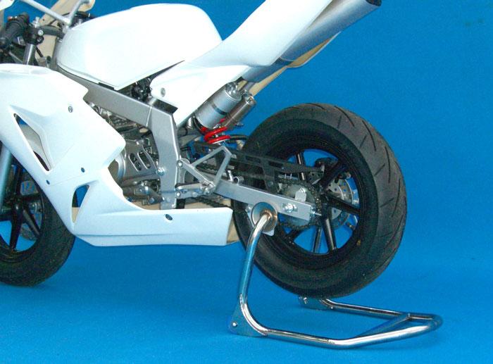 バトルファクトリー BATTLE FACTORY メンテナンススタンド類 リアスタンド 12inch用 直受けタイプ KSR50 KSR80 MH80 NSF100 NSR mini NSR50 XR100モタード