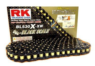 【イベント開催中!】 RK アールケー TAKASAGO CHAIN BLブラックスケールシリーズチェーン BL520R-XW リンク数:108