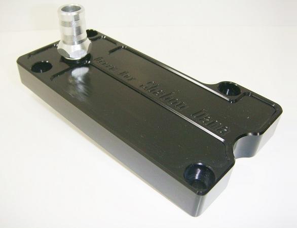 しゃぼん玉 シャボンダマ その他エンジンパーツ オリジナルブリーザープレート カラー:ブラック GPZ900R