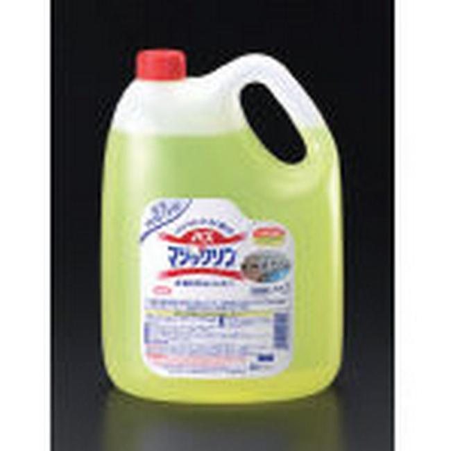 ESCO エスコ 洗車用品 4.5Lx4個浴室用洗剤(バスマジックリン)