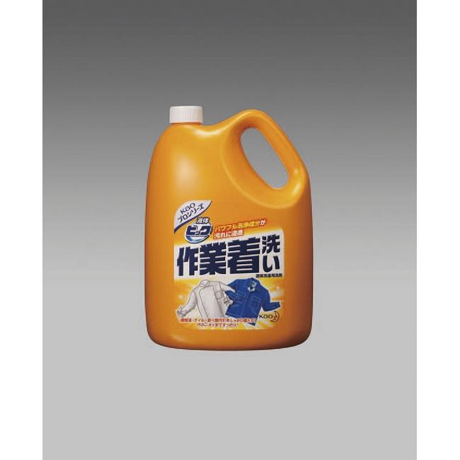 ESCO エスコ 4.5kgx4個作業着用洗剤(液体ビック)
