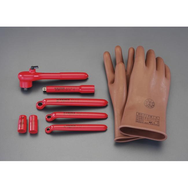 ESCO エスコ セット工具 [9点]ハイブリッド車向け絶縁工具セット