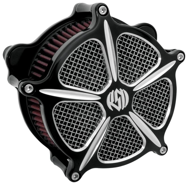 RSD Roland Sands Design ローランドサンズ エアクリーナー (VENTURI SPEED 5/コントラストカット) FLHR ROADKING [ロードキング゙]