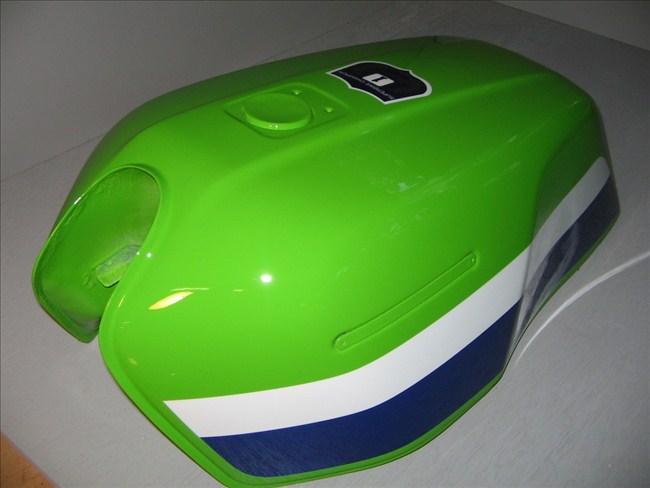 バイクペイント.com Bike Paint.com Z1000R ローソンレプリカ図面つき塗料セット Z1000 R