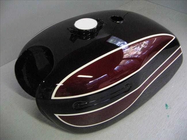 バイクペイント.com Bike Paint.com スプレータイプ塗料 W3-2型 マルーン図面つきウレタン塗料セット W3