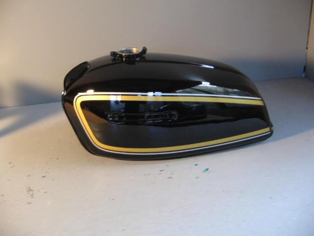 バイクペイント.com Bike Paint.com スプレータイプ塗料 GT380 B5 黒図面つきウレタン塗料セット GT380 B5