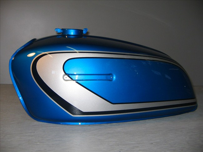 バイクペイント.com Bike Paint.com スプレータイプ塗料 GT380 B3 キャンディーブルー GT380 B3