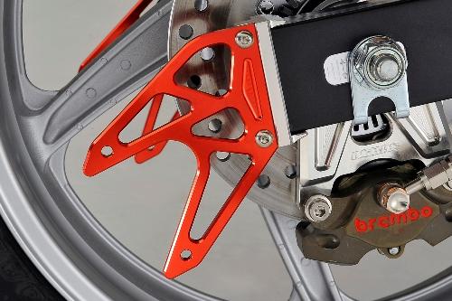 AGRAS アグラス リアスタンドプレート CBR250R (2011-)