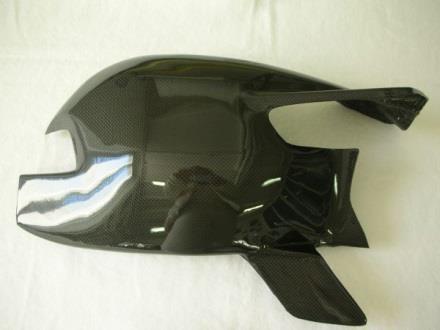 CARBONVANI カーボンバーニ その他外装関連パーツ スイングアームガード クリア塗装:ツヤ無 1098 1198 848