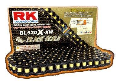 RK アールケー TAKASAGO CHAIN BLブラックスケールシリーズチェーン BL530X-XW リンク数:80