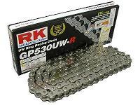 【ポイント5倍開催中!!】【クーポンが使える!】 RK アールケー TAKASAGO CHAIN GPスーパーシルバーシリーズチェーン GP530UW-R リンク数:132