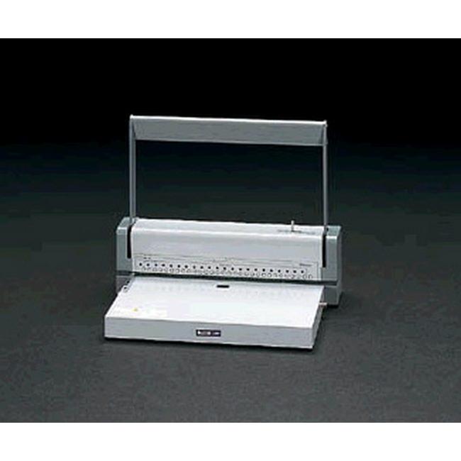 ESCO エスコ 文具・筆記具・備品 [B5/26-A4/30穴切替式]多穴パンチ