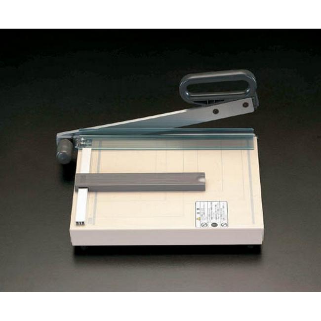 ESCO エスコ 文具・筆記具・備品 285x360mm(A4/10枚)ペーパーカッター