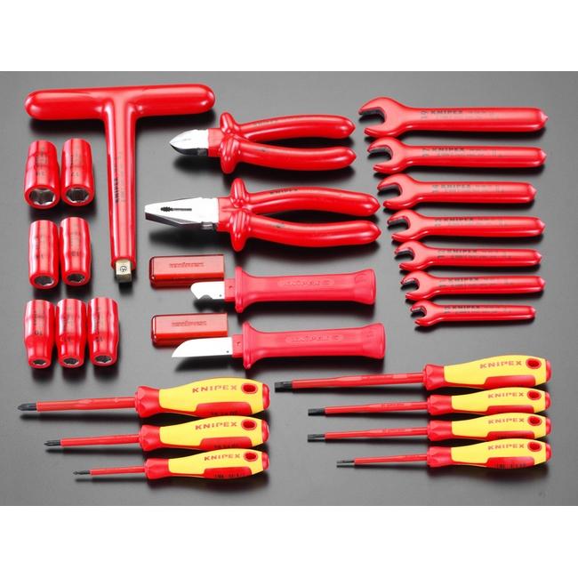 ESCO エスコ セット工具 26個組絶縁工具セット