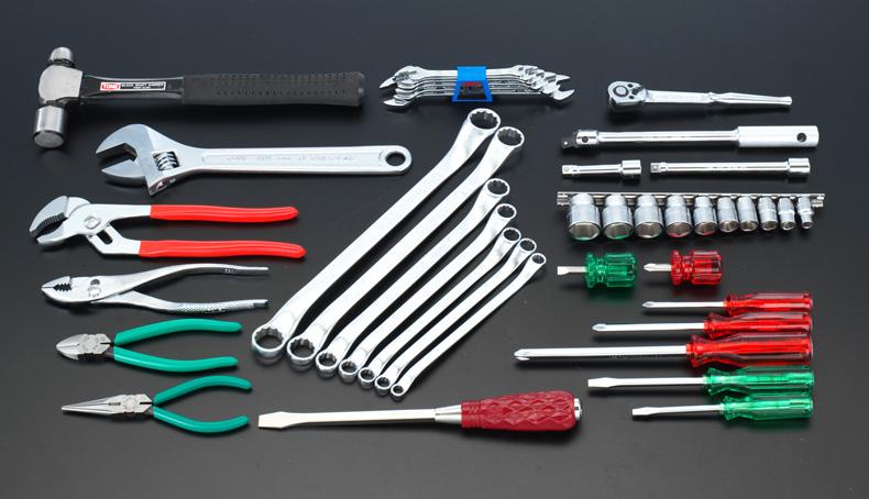 ESCO エスコ セット工具 43個組工具セット