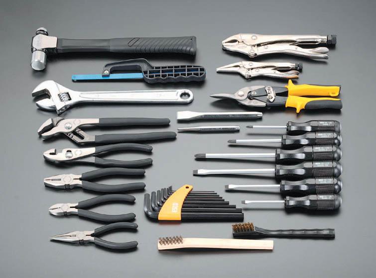 ESCO エスコ セット工具 30個組工具セット