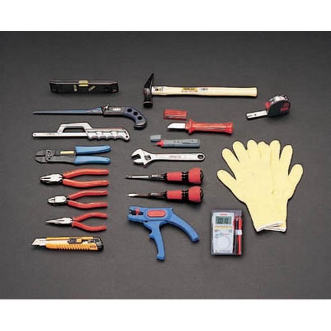ESCO エスコ セット工具 電気工事用工具セット